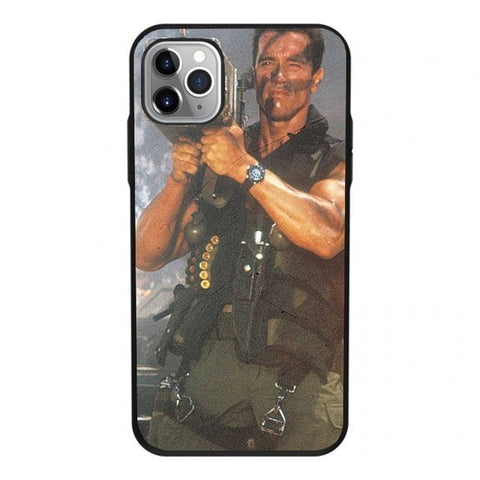 Arnold Schwarzenegger movie Commando 1985 poster phone case For Apple iPhone 11 PRO MAX i11 pro