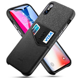 Leather Card Slot Shockproof Business Wallet Case for iPhone 11 Pro XR XS Max Case