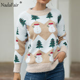 Christmas Sweater Women Casual Pullover Oversized Knitted Sweater