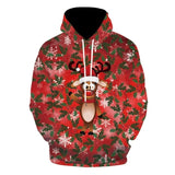 Merry Christmas Hoodies & Sweatshirts Decoration Men Women Christmas Family Casual Hoodies