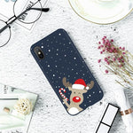 Christmas elk Soft Phone Case For iPhone 7 Case For TPU iPhone 5 6 S 8 Plus XS X Xr XS Max 11 Pro MAX