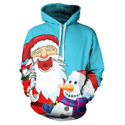 3D Hoodies Christmas Men/Women Autumn Winter 3D Printed Hoodie Xmas Sweatshirt