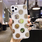 For iPhone 11 Pro X XR XS Max 6 6s 7 8 Plus Phone Case Luxury Love Heart Clear Soft TPU