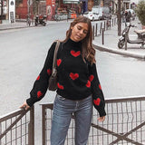 women sweaters and pullovers korean style knitted