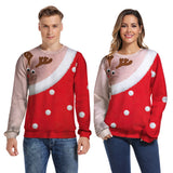 Christmas Women Pullover Sweatshirt New Year Fashion