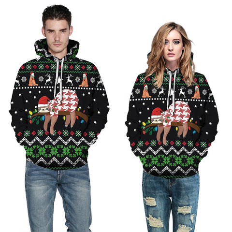 tumblr hoodie Winter christmas Plus Size Couples Sweatshirt oversize Vintage Clothing 5XL