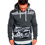 Christmas Casual Sweatshirt Hoodies Top Hip Hop Tracksuits