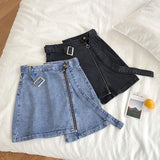 sexy summer short skirts mini denim skirt women's short jean skirts plus size 5xl - Outfitter Style