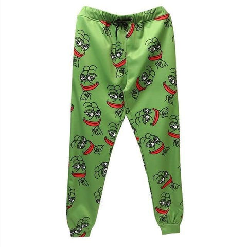 3D The Frog Joggers Pants Men/Women Funny Cartoon Sweatpants Trousers