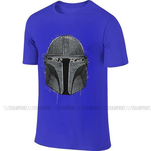 This Is The Way Cotton Tees The Mandalorian Baby Yoda Tops Star Wars Seagulls Jedi Fett T Shirts