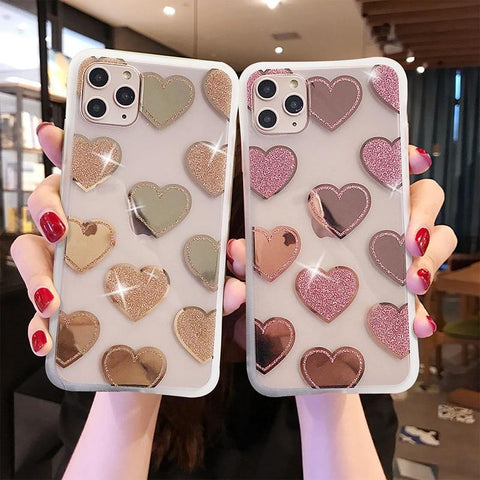 Transparent Electroplated Mirror Case For iPhone 11Pro X XR XS Max