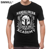 Mandalorian Academy T-Shirt Fighter Star Wars 40th T Shirt