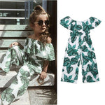 Toddler Baby Girl Summer Flower Summer Outfits Off Shoulder Cute Sexy Girls'Clothes 3-8 Year