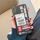 Funny DHL Barcode Phone Case For Huawei P30 Pro P20 Lite Mate 30 20
