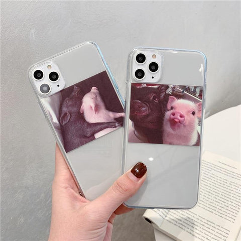 Funny Cute Pig Phone Case For Huawei P30 Pro P20 Lite Mate 30 20