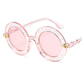 Retro Round Sunglasses Vintage Gradient Shades