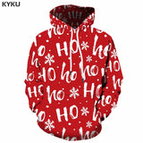 Christmas Sweatshirt Print Anime Clothes Party 3d Hoodies Xmas Hip Hop Sweatshirt