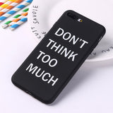 Memes Cool Quote Funny Words For iPhone 6 6S 5 5S SE 8 8Plus X XS Max 7 7Plus Soft TPU