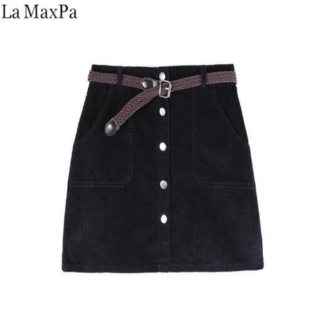 Skirt Ladies Fashion High Waist Skirts Women's Casual Fashion