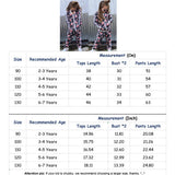 Fashion Sportswear Floral Toddler Baby Kids Boy Girl Outfits Clothes Tops Pants