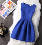 Women Summer Bodycon Vest Dress Vintage Printed Sexy Party