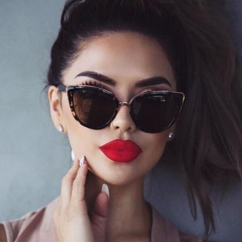 Sunglasses Vintage Gradient Glasses Sexy Retro Cat eye Sun glasses