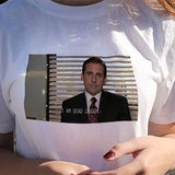 I Am Dead Inside Quotes Funny T-shirt The Office Michael Scott T-Shirt