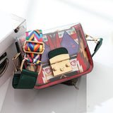 Messenger Bag Jelly Bag Mini Transparent Funny Bag Lady Clutch Bags