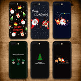 Santa Claus Christmas Deer Bear Tree Snow Soft TPU Silicone Phone Case for iphone X 6 7 8 Plus iPhone XR XS Max