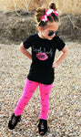 Toddler Kids Baby Girls Clothing Cotton T shirt Tops Short Sleeve Pants 2PCS Outfit