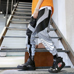 Sweatpant Flash Reflective Pants Joggers Hip Hop Dance Show Party Night Trousers - Outfitter Style