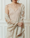 Illusion Lace Wrap Ivory1