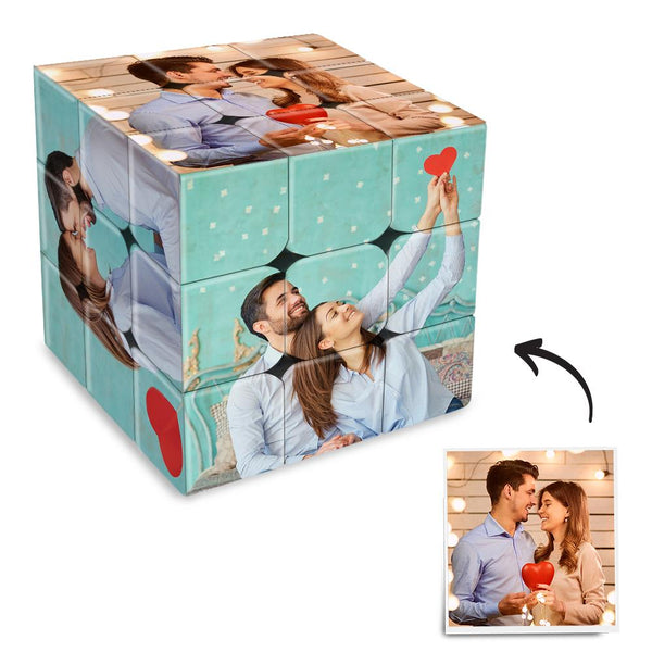 Custom DIY Magic Folding Photo Rubik's Cube | For Couple