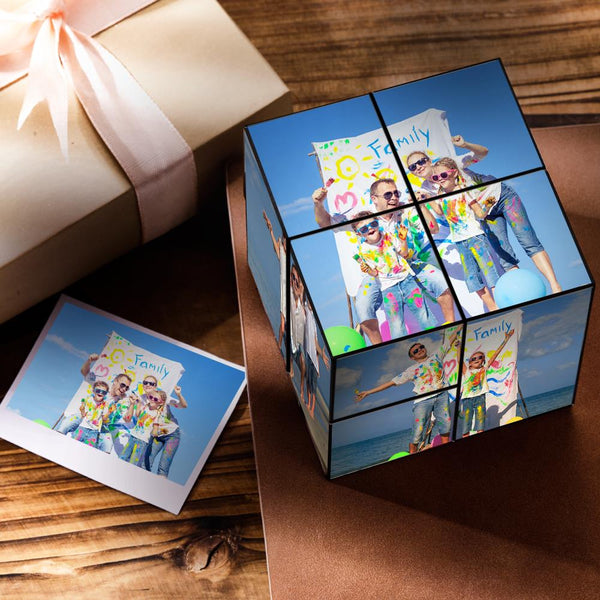 Custom DIY Magic Folding Photo Rubik's Cube | Happy Fathers Day