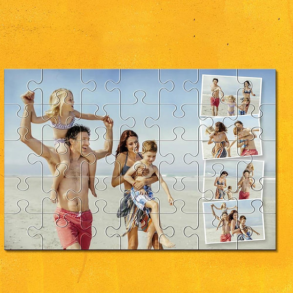 Custom Collage Photo Puzzle 35-1000 Piece Love Jigsaw