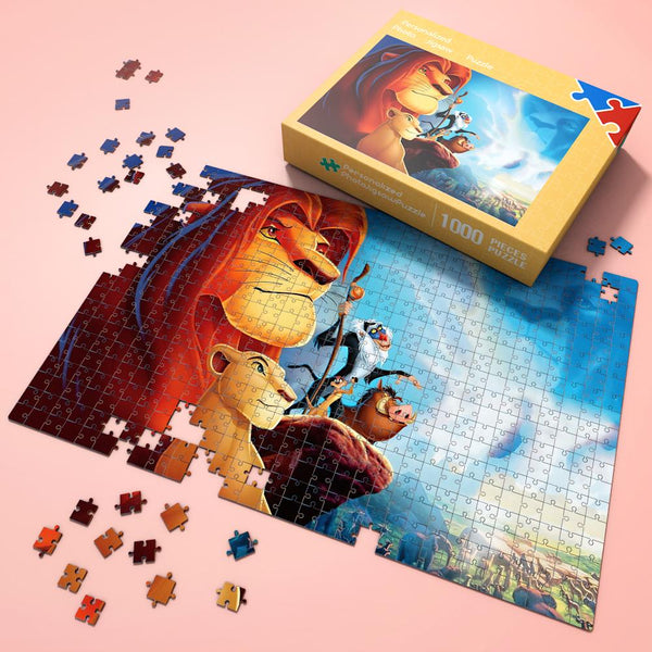 Jigsaw Puzzle Disney Funny Story-Lion King #2 1000 Pieces Max