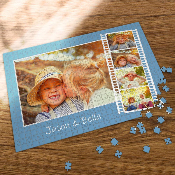 Custom Collage Photo Jigsaw Puzzle Lovely Baby