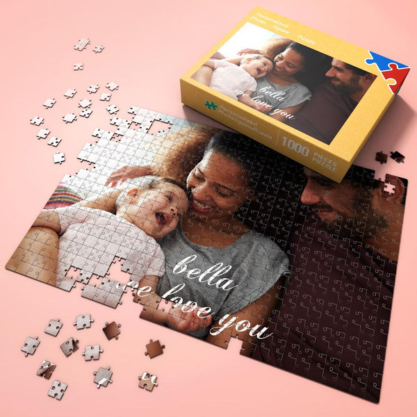 Custom Photo Jigsaw Puzzle Happy Father's Day Gifts 300-1000 Pieces