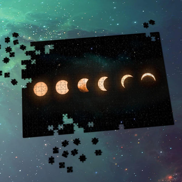 Space Jigsaw Puzzle - Lunar Eclipse