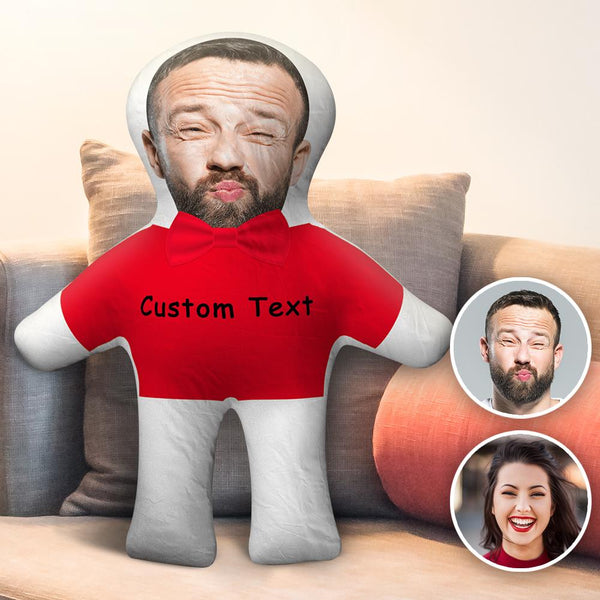 Custom Body Pillow Face Body Pillow Custom Pillow Face Pillow Photo Pillow Two Photos Double Sided Custom Text Pillow Gift