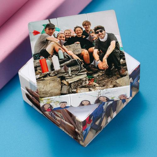 Personalized Pictures Rubik's Cube with 6 photos