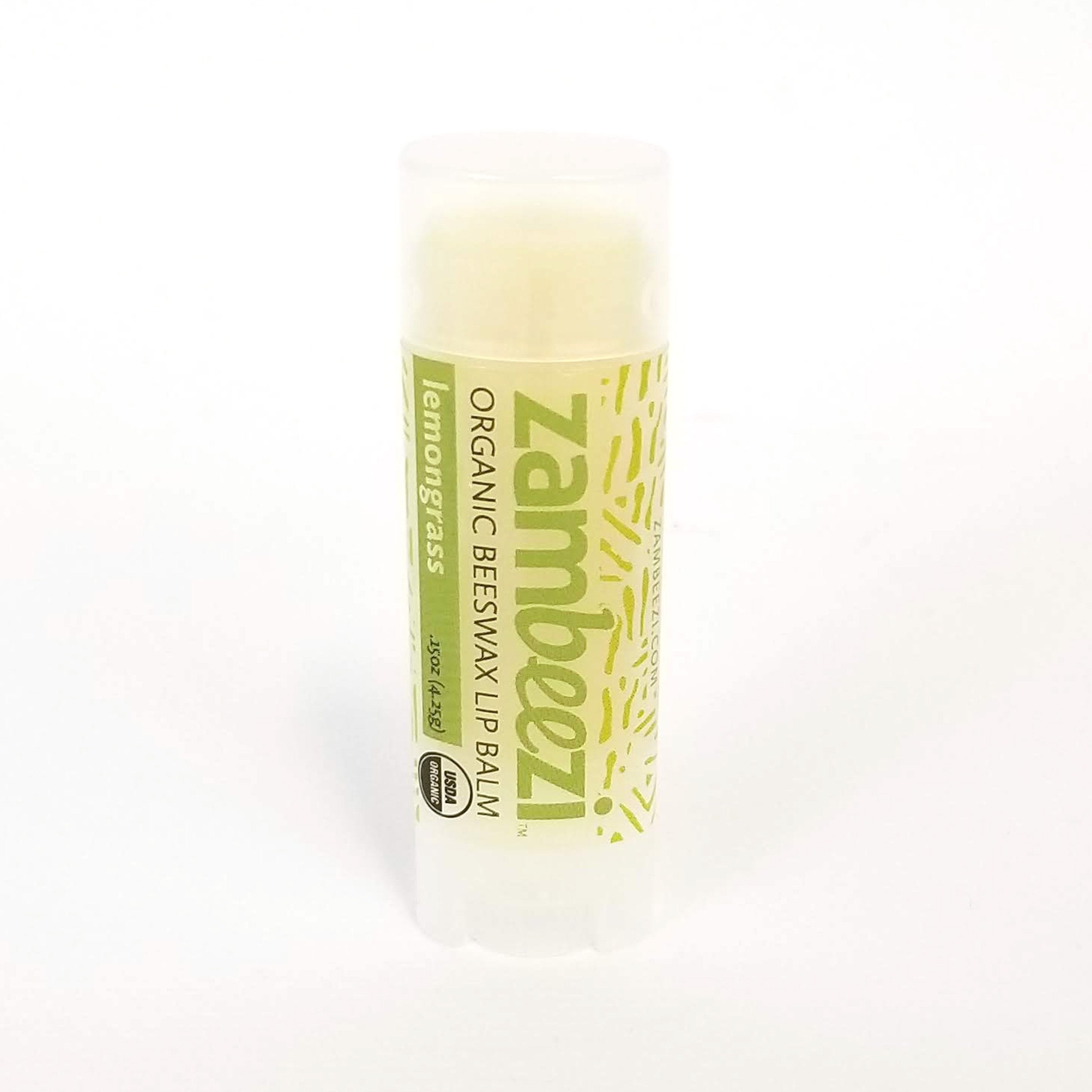 Organic Lip Balm - Lemongrass