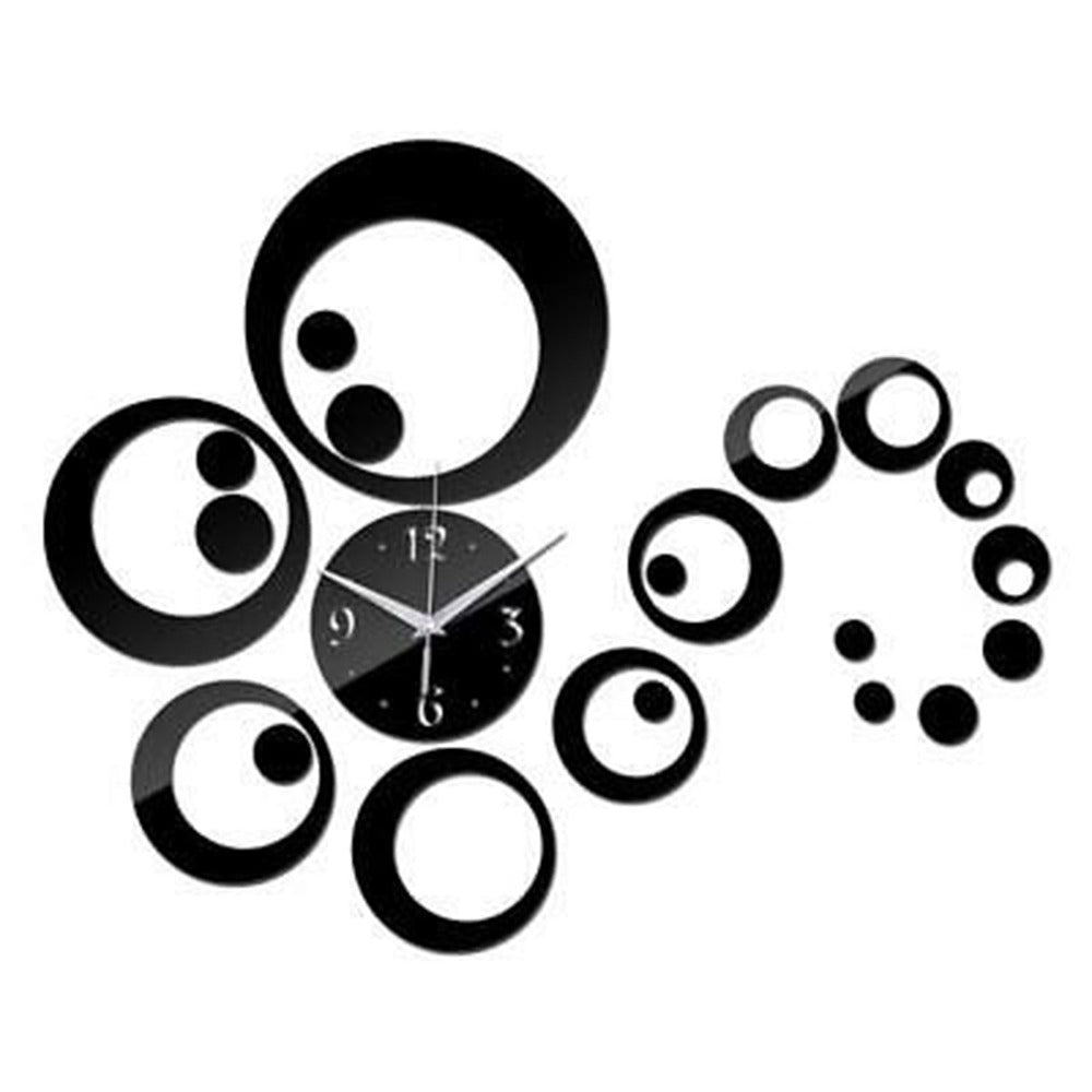 Round Round Design Acrylic wall watch