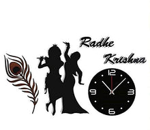 Load image into Gallery viewer, Radha Krishna design Acrylic wall watch