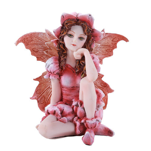 SMALL SITTING FAIRY Rose