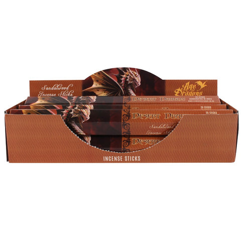 DESERT DRAGON INCENSE 20 STICKS PACK