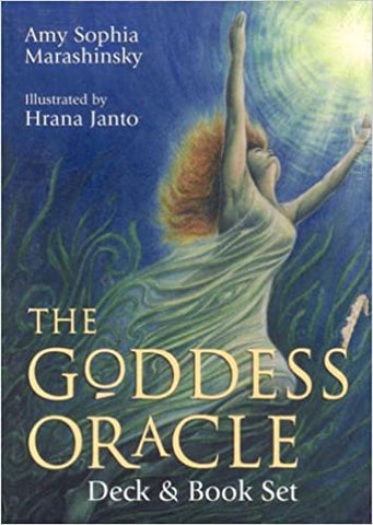 GODDESS ORACLE (book & 52-card deck) (new edition) by  Marashinsky, Amy Sophia