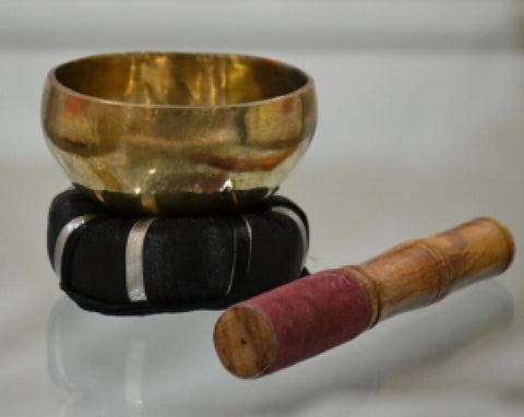 Singing Bowl Brass Hand Hammered Tibetan