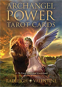 ARCHANGEL POWER TAROT CARDS: A 78-Card Deck & Guidebook (new edition) by  Valentine, Radleigh C