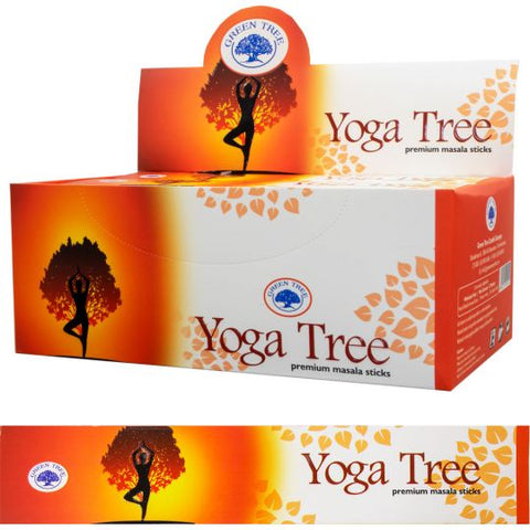 Green Tree Incense  Yoga Tree 15 gr